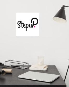 Affiche sur Papier Photo Crypto – StepuP