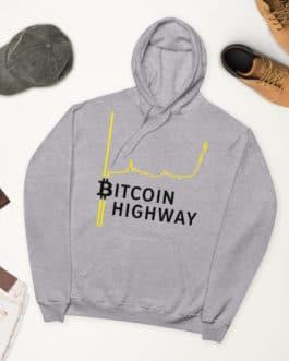 Sweat à capuche polaire Crypto – Hight Way