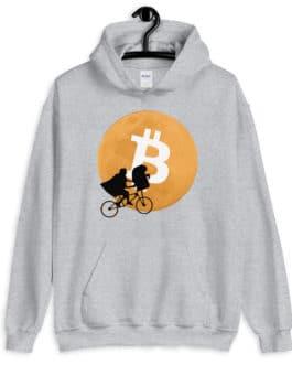 Crypto Hoodie – Bitcoin Moon