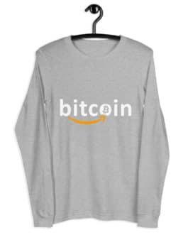 T-shirt à Manches Longues Crypto – Bitzon
