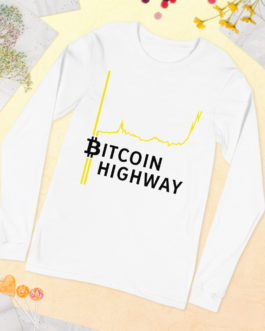 T-shirt à Manches Longues Crypto – Hight Way