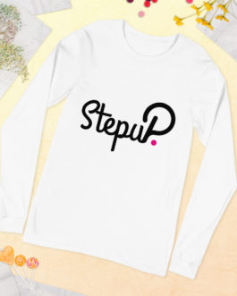 T-shirt à Manches Longues Crypto – StepuP
