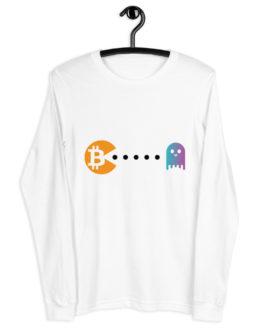 T-shirt à Manches Longues Crypto – Pac-Man