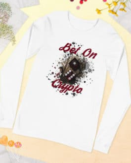 T-shirt à Manches Longues Crypto – BET ON