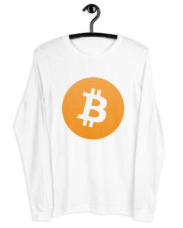 T-shirt à Manches Longues Crypto – BTC