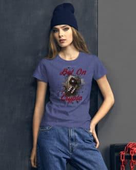 T-shirt à Manches Courtes pour Femmes Crypto – BET ON