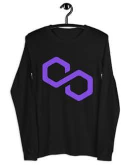 T-shirt à Manches Longues Crypto – Polygon